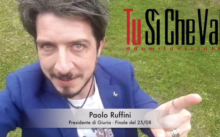 TSCV 2018 Special Guest: Paolo Ruffini